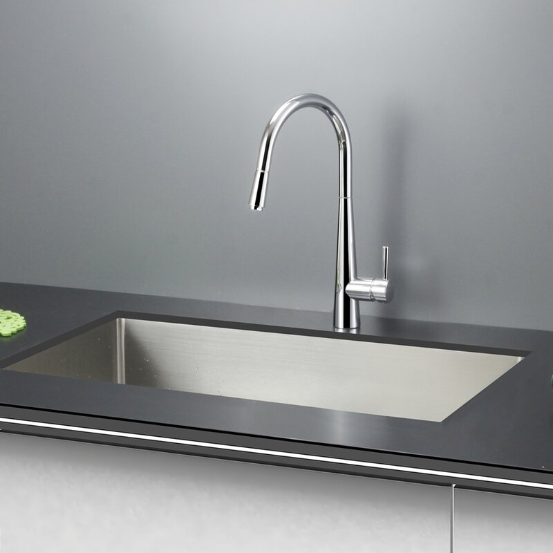 gravena 30   x 18   undermount single bowl kitchen sink ruvati gravena 30   x 18   undermount single bowl kitchen sink      rh   wayfair com