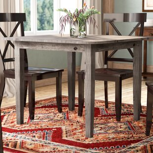 Jarvis Solid Wood Dining Table Mistana
