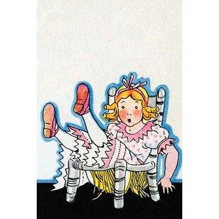 U0027Goldilocks Breaks Baby Bears Chairu0027 By Julia Letheld Hahn Graphic Art