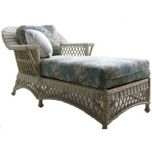 Bar Harbor Chaise Lounge by Spice Islands Wicker