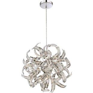 Orren Ellis Colletta 5-Light Globe Chandelier