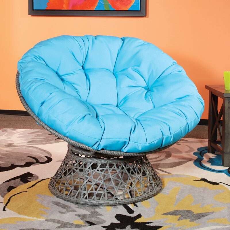 Osp Designs Swivel Papasan Chair Amp Reviews Wayfair Ca