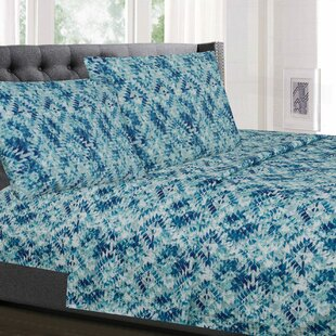 Lendler Geometric Microfiber Sheet Set