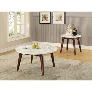 Corrigan Studio Hinckley 2 Piece Coffee Table Set