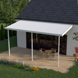 24ft. W x 8ft. D Patio Awning by Heritage Patios