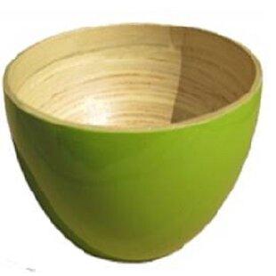 Round Bamboo Mixing Bowl