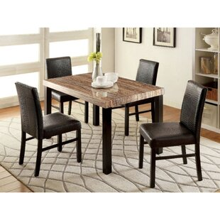 Jenks 5 Piece Solid Wood Dining Set