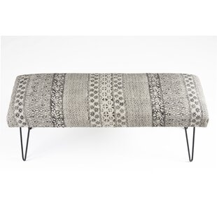 Rita Upholstered Bench by Union Rustic
