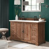 Cuyuna 60 Double Bathroom Vanity Set by Darby Home Co