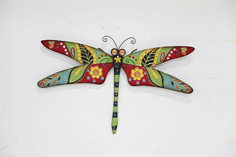 Rosalind Wheeler Larissa Dragonfly Outdoor Wall Art Reviews Wayfair