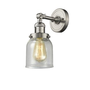 Find the perfect Arsen Bell 1-Light Armed Sconce By 17 Stories