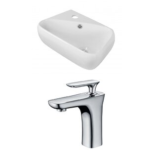 Where buy  Ceramic 17.75 Bathroom Sink with Faucet and Overflow ByRoyal Purple Bath Kitchen