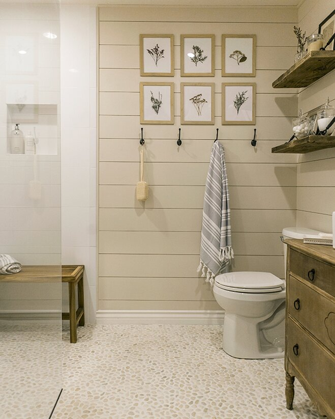 Before After Spa Bathroom Rises From The Rubble | Wayfair