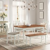 Bastion 6 Piece Dining Set by Kelly Clarkson Home
