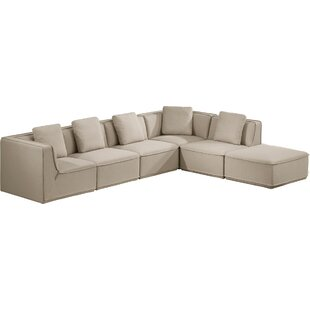 Gracie Oaks Jonah Modular Sectional with ..