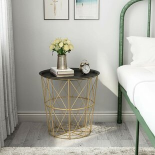 Clemmer Metal Tray Table by Mercer41