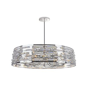 CWI Lighting Petia 8-Light Drum Chandelier