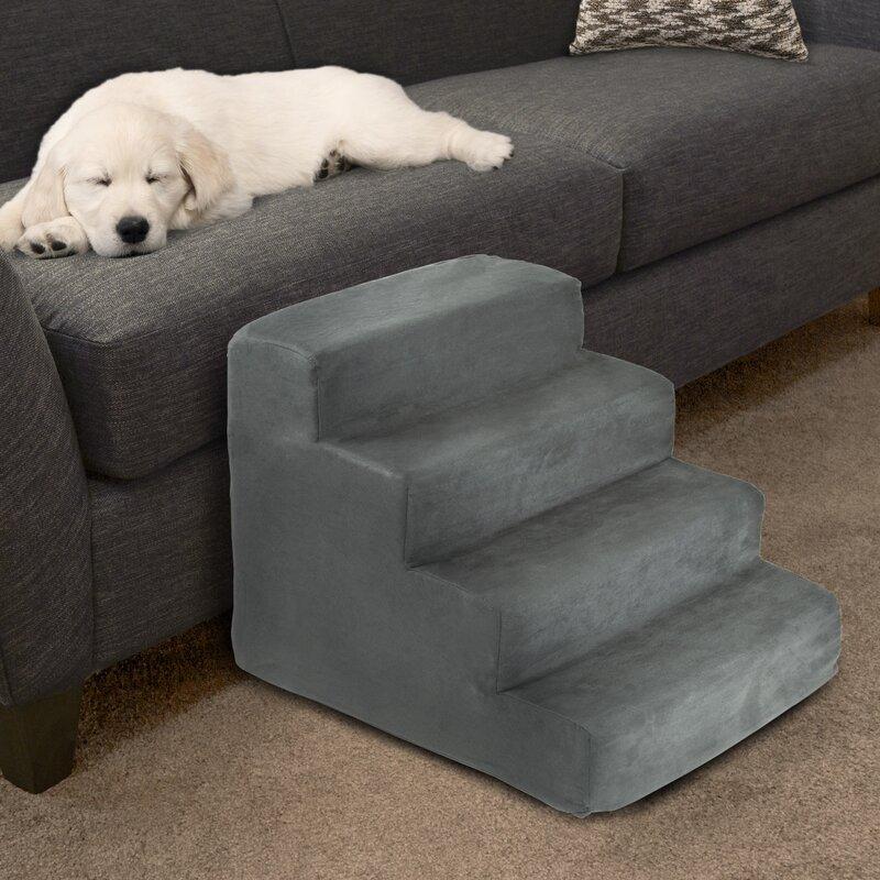 4 Step Foam Pet Stairs