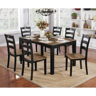 Hoyle Transitional 7 Piece Dining Table S..
