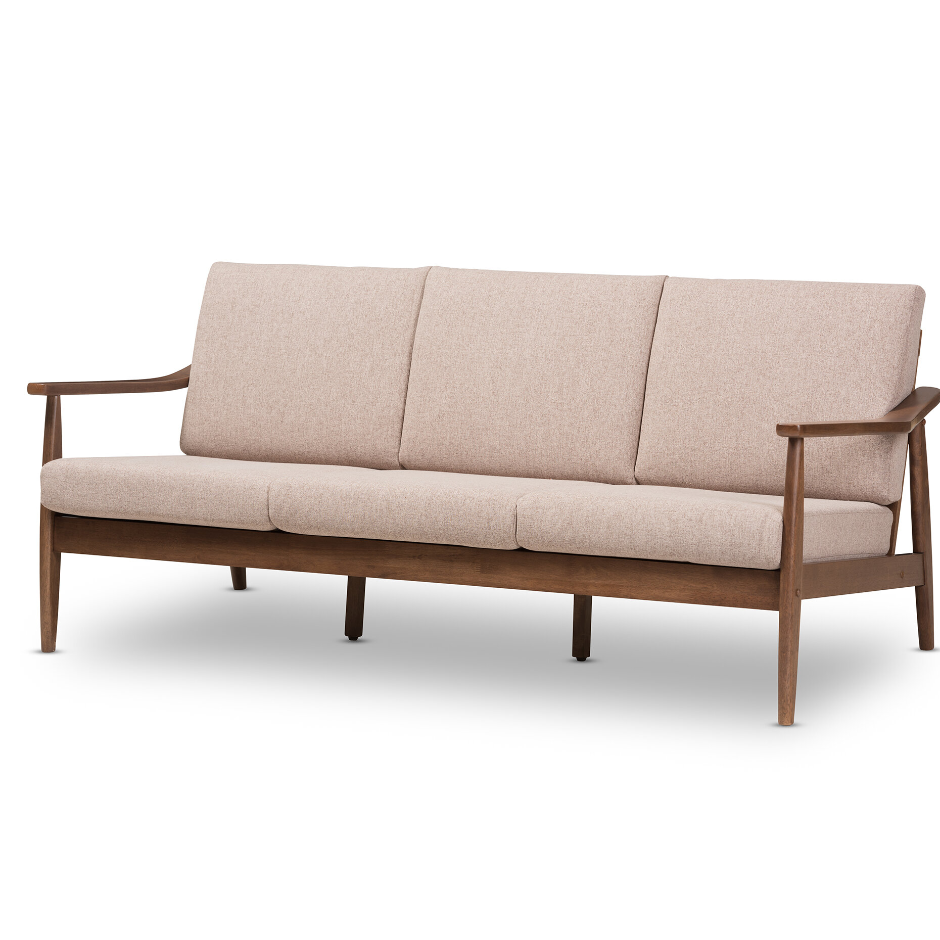 Union Rustic Kellner Mid Century Modern Sofa Reviews Wayfair