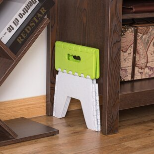 Folding Adults and Kids Kitchen Bathroom and Bedroom Step Stool by Basicwise