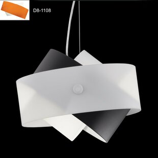 ZANEEN design Tourbillon 1-Light Geometric Pendant