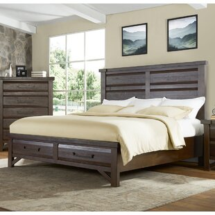 Union Rustic Bricelyn Storage Platform Bed