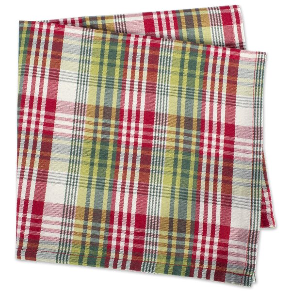 Cotton 6 Pieces Plain Napkins Set for Holiday Dinner Party Use