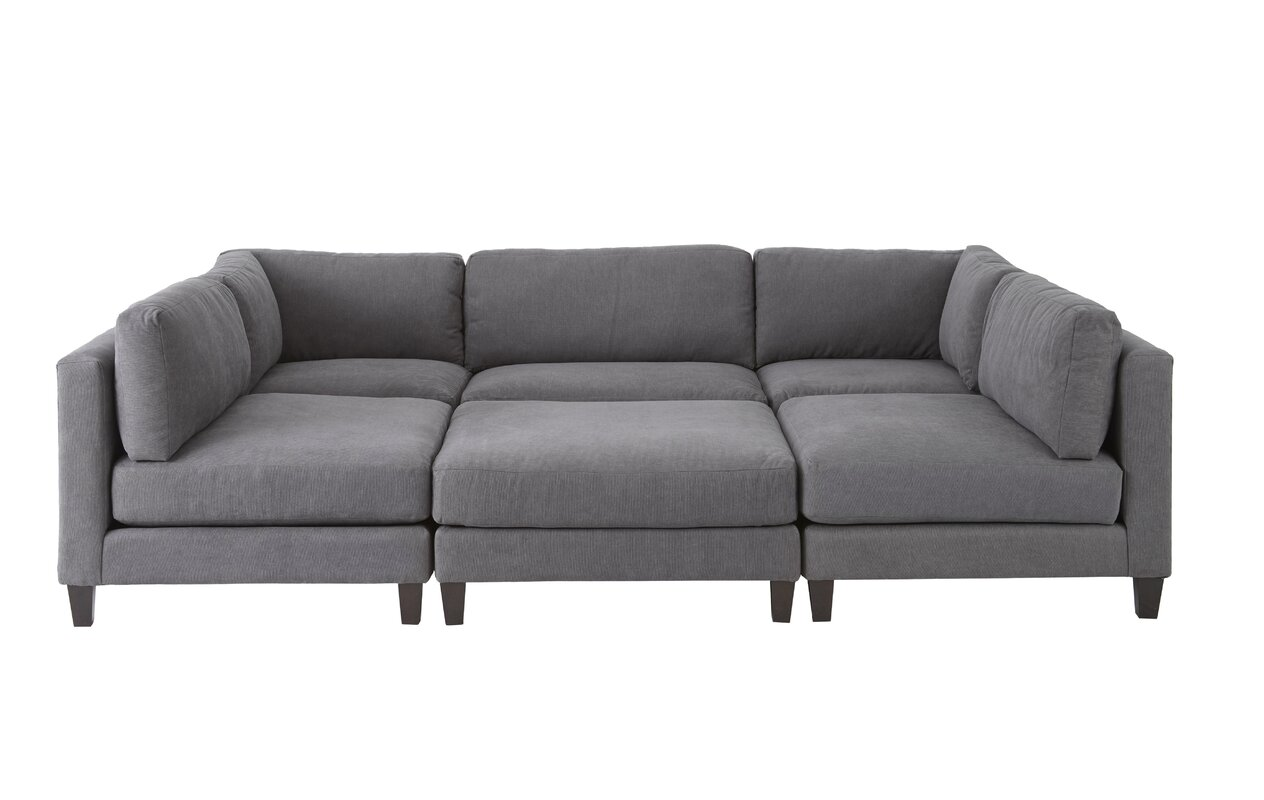 Chelsea Sleeper Sectional With Ottoman