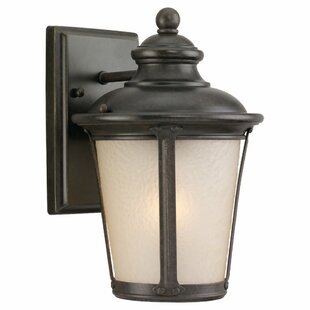 Reviews Maria 1-Light Outdoor Wall Lantern By Fleur De Lis Living