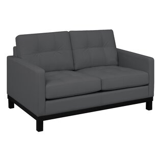 Merrick Road Leather Loveseat
