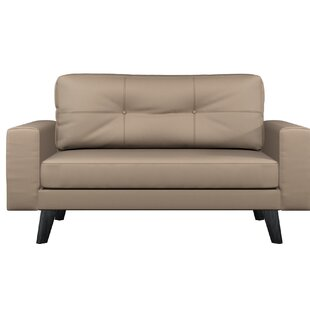 Shop Binns Cross Weave Loveseat by Corrigan Studio