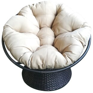 Baddeley Swivel Papasan Chair