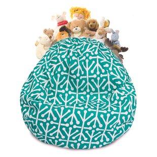 Stuffed Animal Toy Storage Bean Bag Chair ByLatitude Run