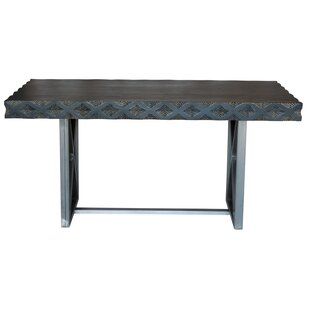 Wrought Studio Muir Solid Wood Dining Table