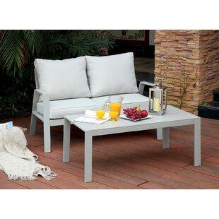 Belleville 2 Piece Conversation Set with Cushions
