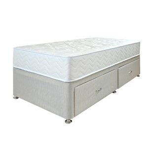 Ortho Premium Open Coil Divan Set By Airsprung Beds