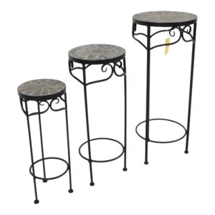 Pedestal Plant Stand By Lesli Living