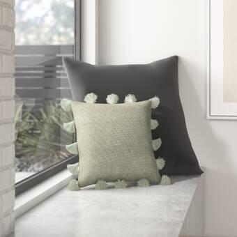 Dania Cotton Throw Pillow Reviews Allmodern