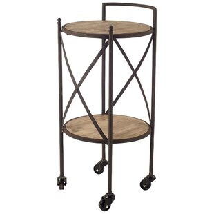 Donoghue Bar Cart by Fleur De Lis Living