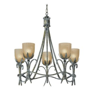 Zanin Lighting Inc. Latina 5-Light Shaded Chandelier