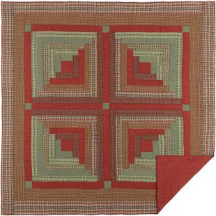 Pearson Single Reversible Christmas Holiday Quilt