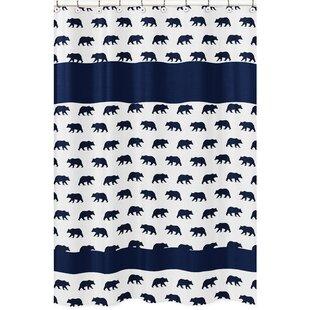 Reviews Big Bear Bear Print Shower Curtain BySweet Jojo Designs