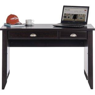 Pottsgrove Jamocha Rectangular Writing Desk By Ophelia & Co.