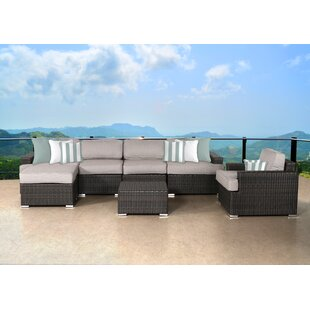 Bayou Breeze Archway 7 Piece Sectional Set with Cushions