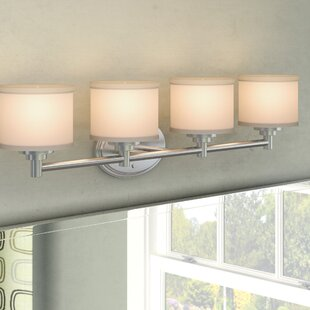Great deal Wedgewood 4-Light Vanity Light By Darby Home Co