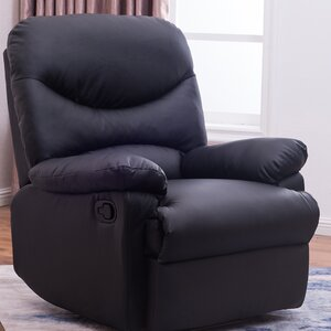 Amparo Lounge Padded Armrest Manual Recliner