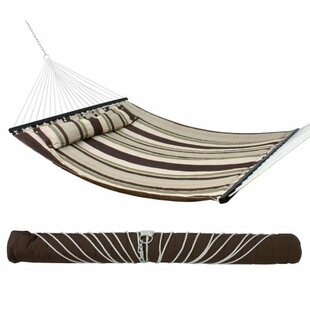 Winston Porter Baraga Double Tree Hammock with Pillow