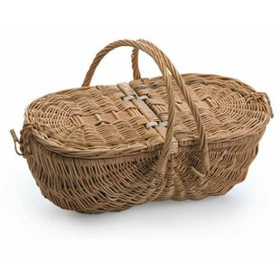 Eco Friendly Wine and Cheese Basket