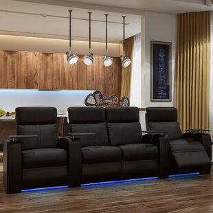 Orren Ellis Power Home Theater Configurable Seating